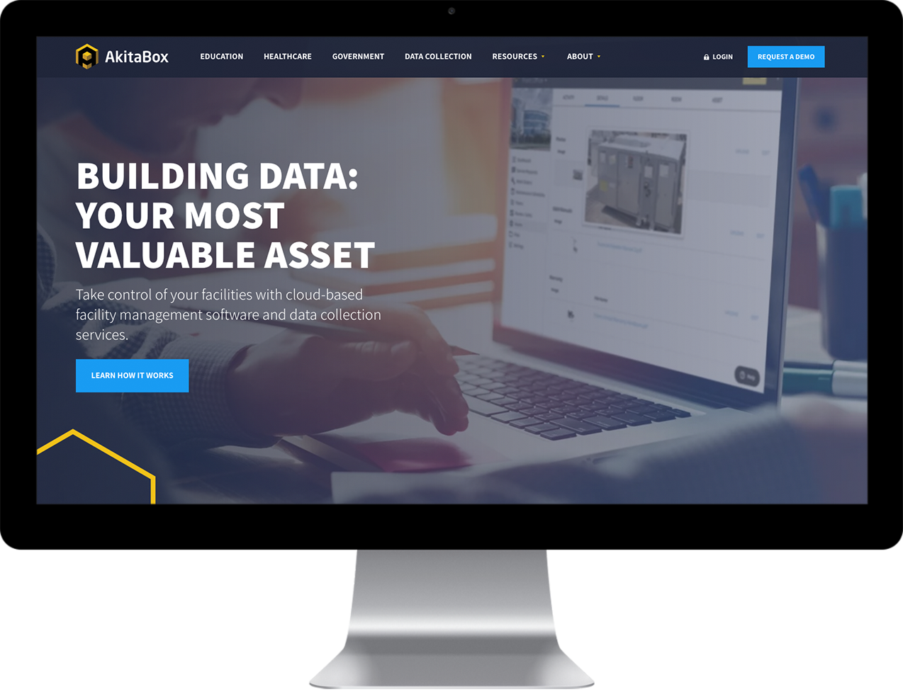 Akitabox home page design