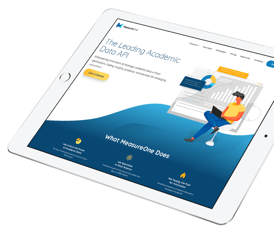 measureone-tablet-angle-custom-website-design