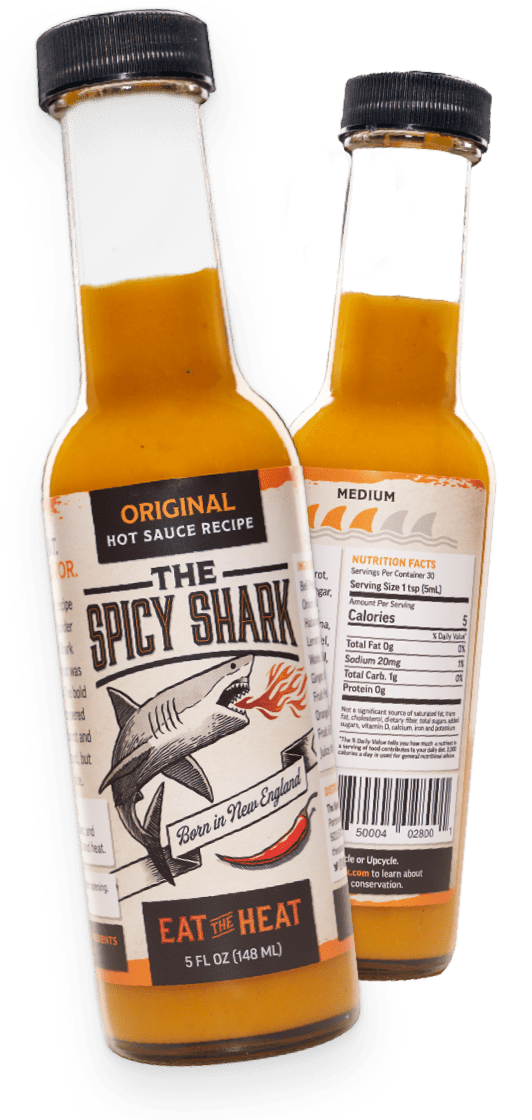 Spicy shark original packaging