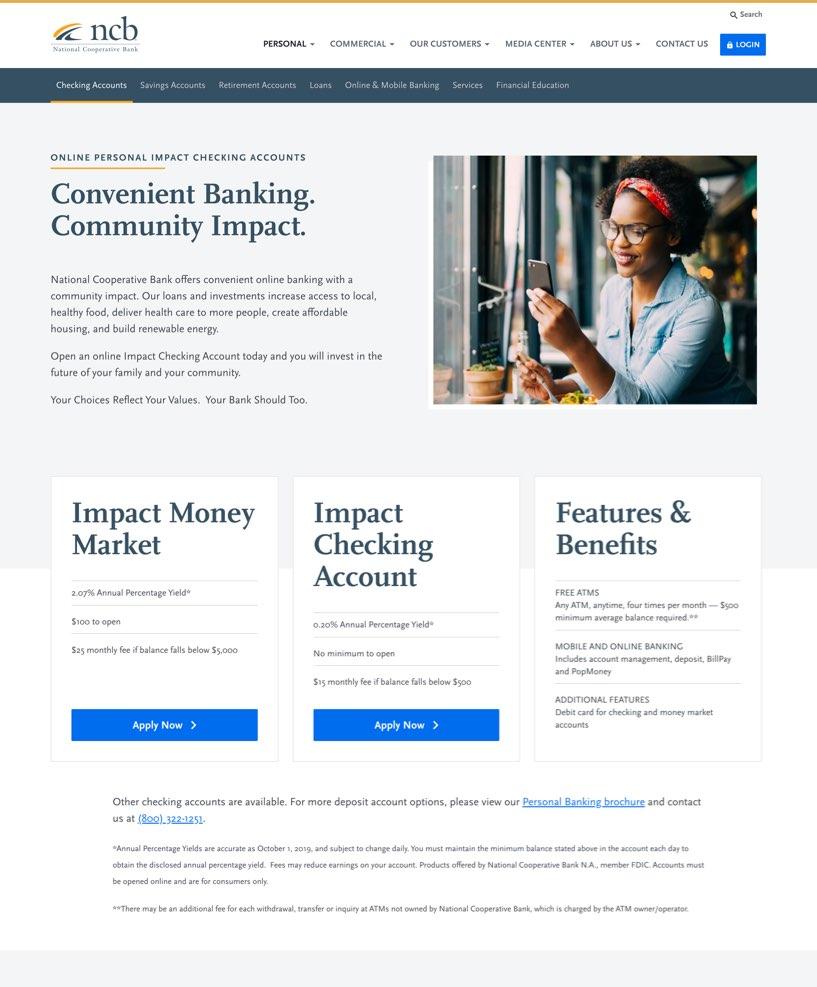 impact-award-ncb-personal-checking