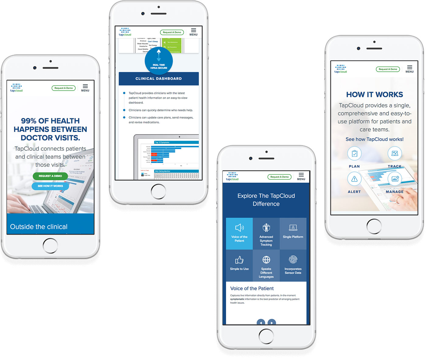 Tapcloud Mobile Website | HubSpot Impact Awards