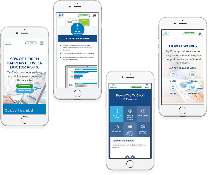 Tapcloud Mobile Website | HubSpot Impact Awards