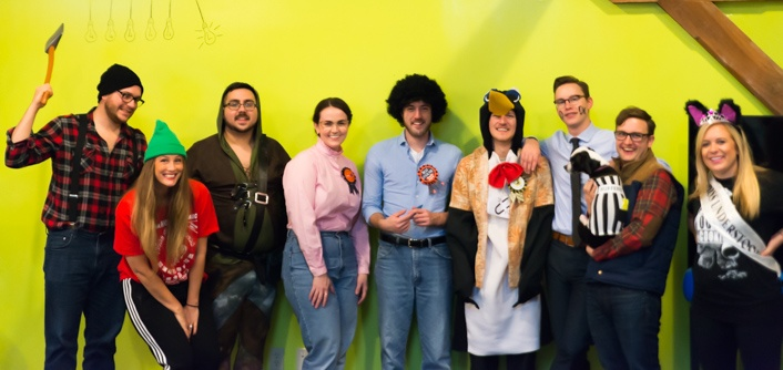 Halloween-office-party-media-junction-costume-contest