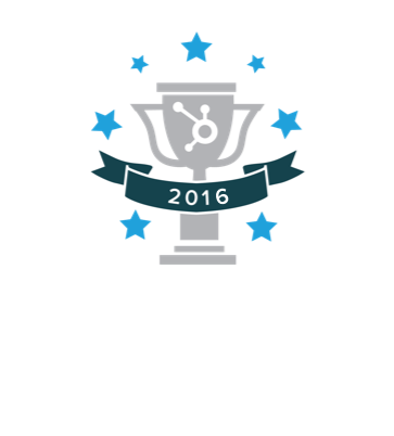 2016 Runner Up for the HubSpot Impact Award for Graphic Design Runner Up