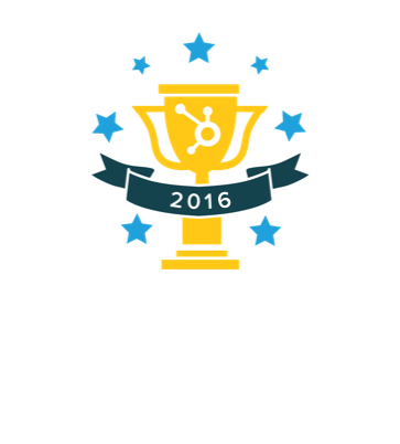 2016 Winner of the HubSpot Impact Award for Sales Enablement
