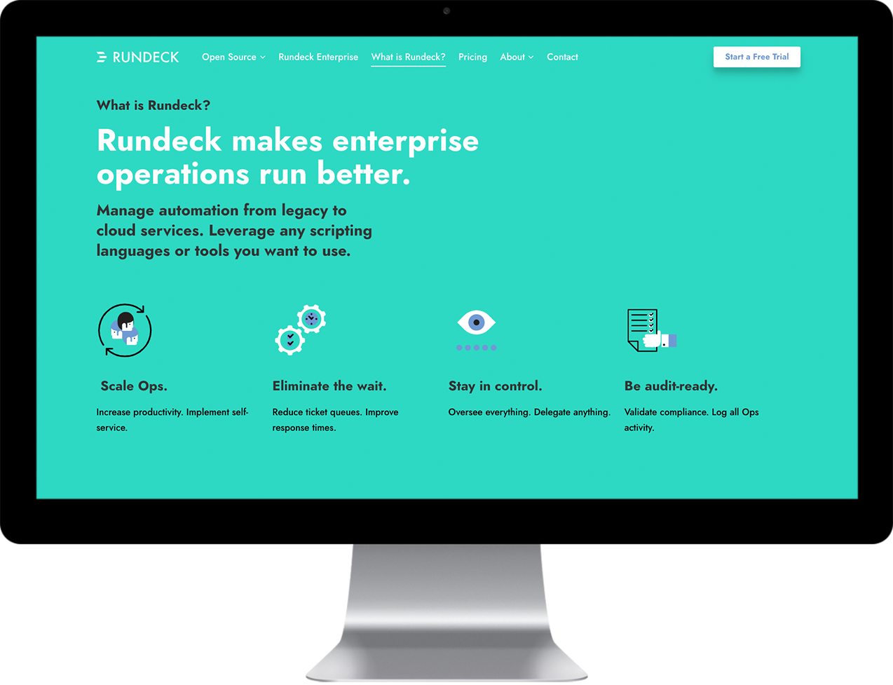 Website Redesign for Rundeck | Media Junction