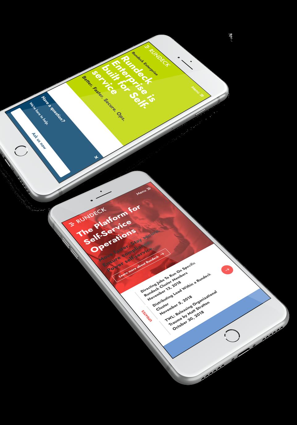 Website Redesign for Rundeck | Media Junction