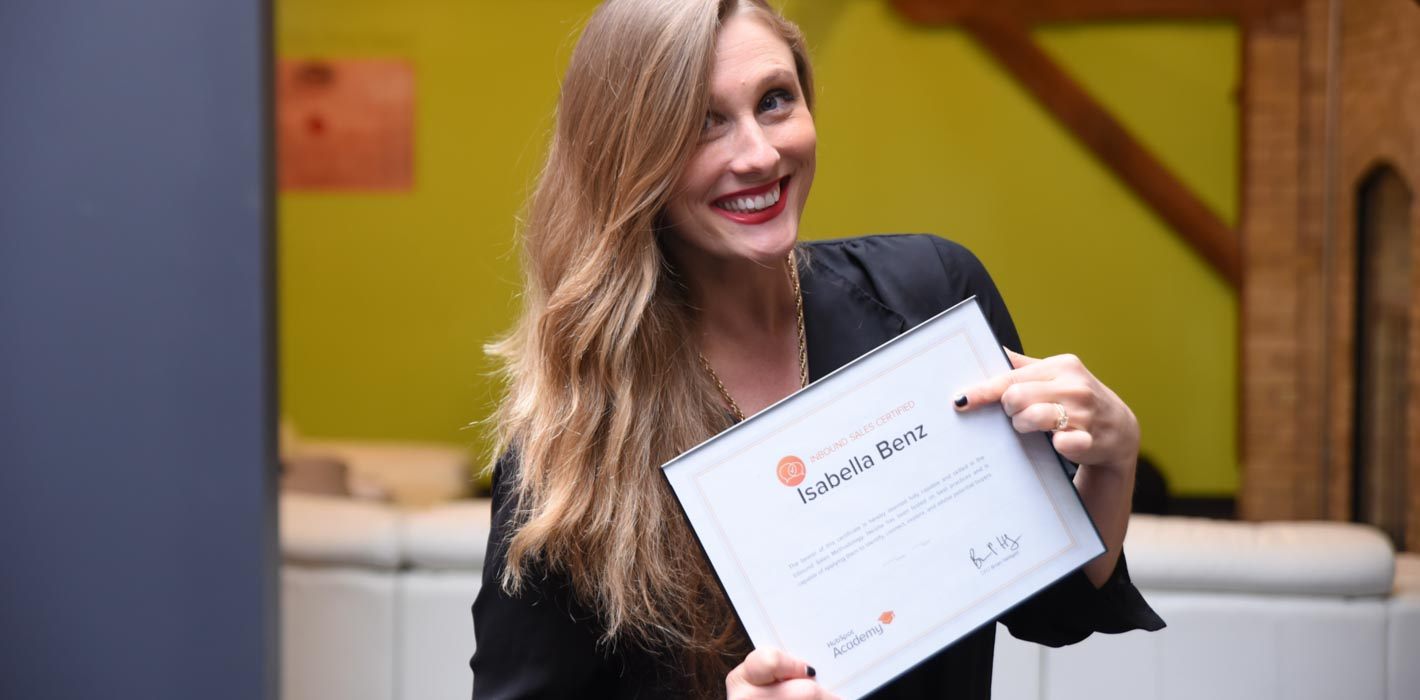 HubSpot Sales Certification: My Journey from Traditional to Inbound Sales