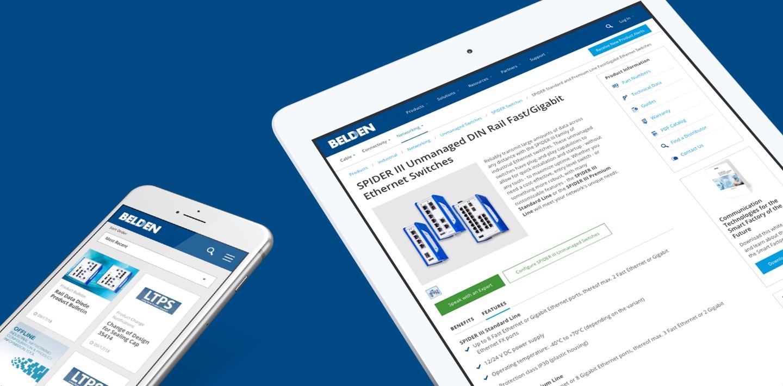 HubSpot Impact Award: Enterprise CMS Website Redesign for Belden