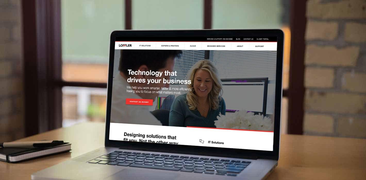 [Video] HubSpot Impact Award: Website design for Loffler Inc.
