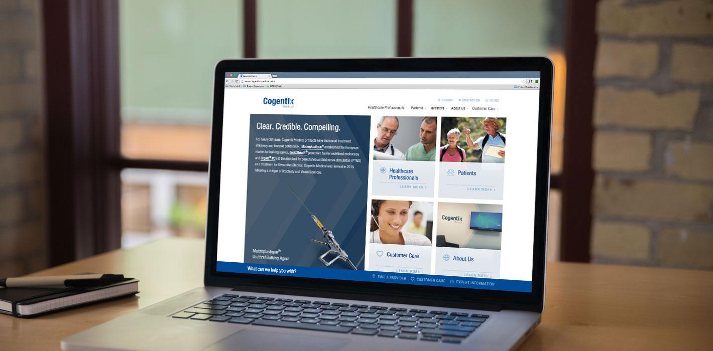 HubSpot Impact Awards: Cogentix Medical Website Redesign