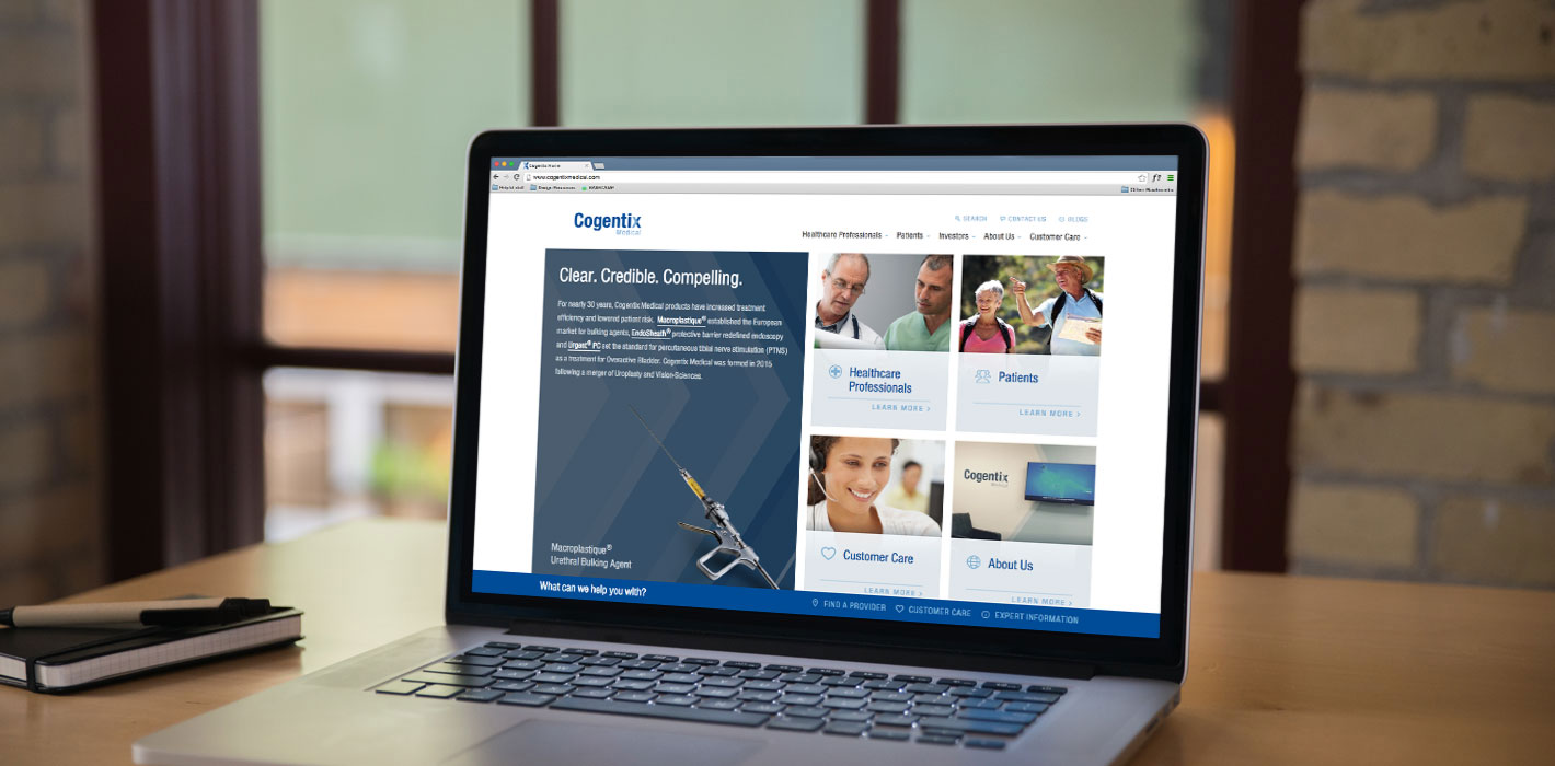 HubSpot Impact Awards: Cogentix Medical Website Redesign