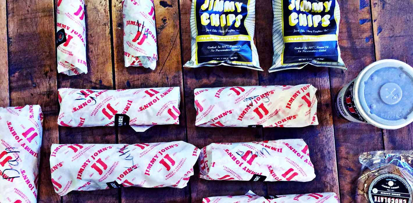 User-Friendly Websites: How We Know Jimmy John's Loves Their Customer #userlove
