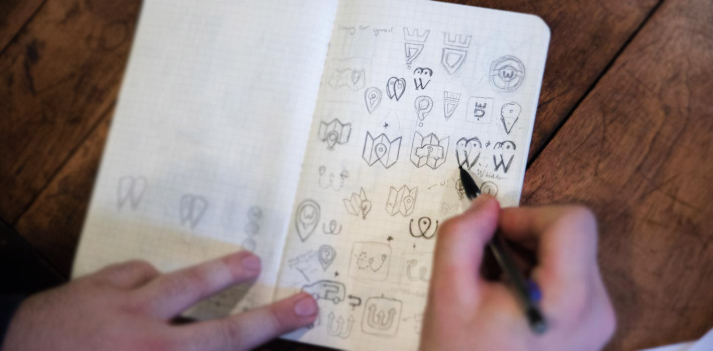 An Inside Look at the Custom Logo Design for Who's Driving