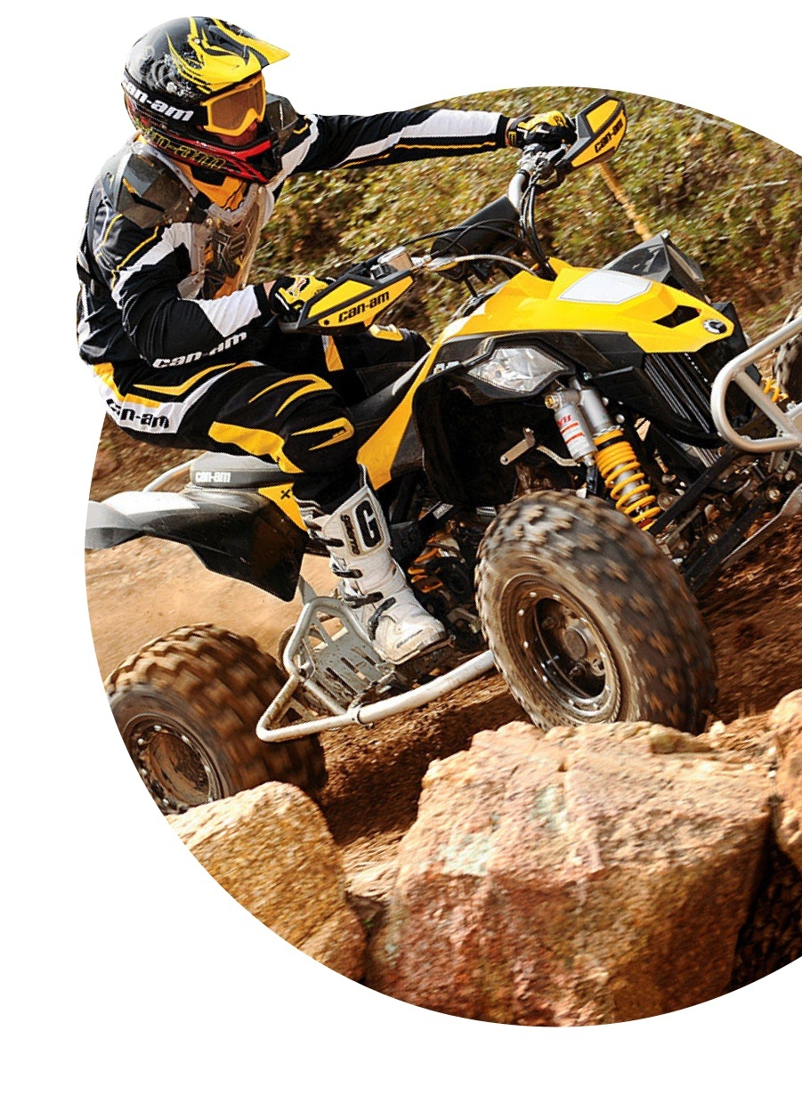 A photo of a Can-Am ATV that can be purchased at Tousley Motorsports dealership in White Bear Lake, Minnesota